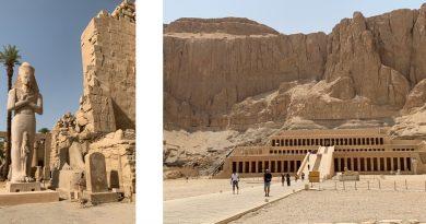 A minha viagem de sonho ao Egipto